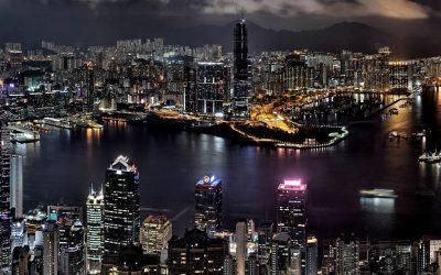 Hongkong City At Night Wallpaper High Definition Ziscr : Wallpapers13.com