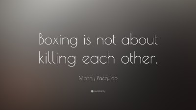 Download Boxing Quotes Wallpaper Gallery