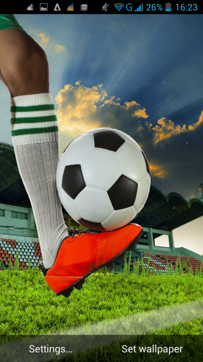 Download Football Live Wallpaper Gallery