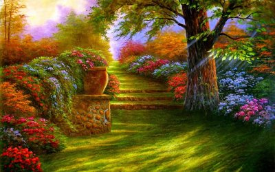 Download Full HD Garden Wallpaper Gallery
