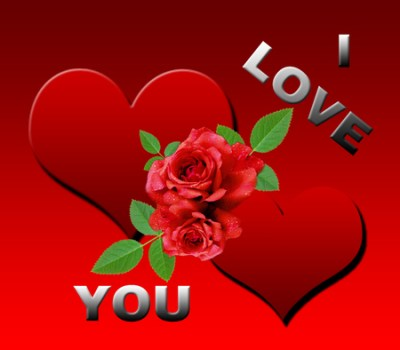 Download I Love You Heart Wallpaper 3D Gallery