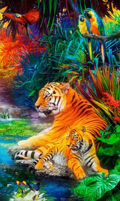 Download Jungle HD Live Wallpaper Gallery
