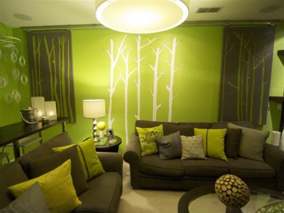 Download Lime Green Living Room Wallpaper Gallery
