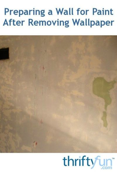 Download Painting A Wall After Removing Wallpaper Gallery