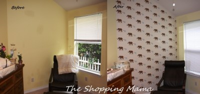 Download Painting Over Wallpaper Before And After Gallery