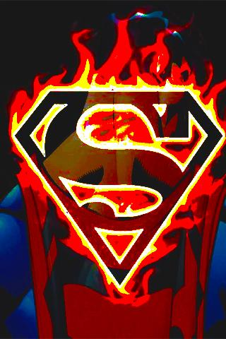 Download Superman Logo Live Wallpaper Gallery