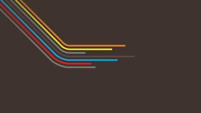 Minimalistic multicolor vector wallpaper | 2560x1440 | 8440 | WallpaperUP