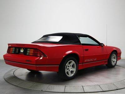1988aei90 Chevrolet Camaro IROC-Z Convertible muscle iroc wallpaper | 2048x1536 | 559464 ...