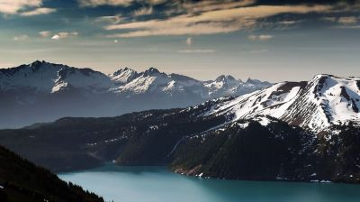 Mountains landscape nature mountain winter lake wallpaper | 2560x1440 | 652984 | WallpaperUP