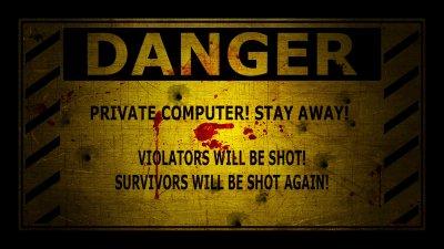 Danger warning wallpaper   1920x1080   717290   WallpaperUP