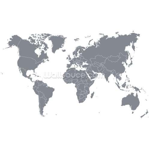 Medium Crop Of World Map Wallpaper