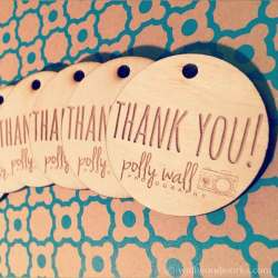 Flagrant Engraved Thank You Tags Wooden Circles Engraved Wood Thank You Tags Wall Woodworks Company Thank You Tags Etsy Thank You Tags Baby Shower