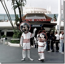 Goofy and Mickey at Space Mountain - www.WaltsApartment.com