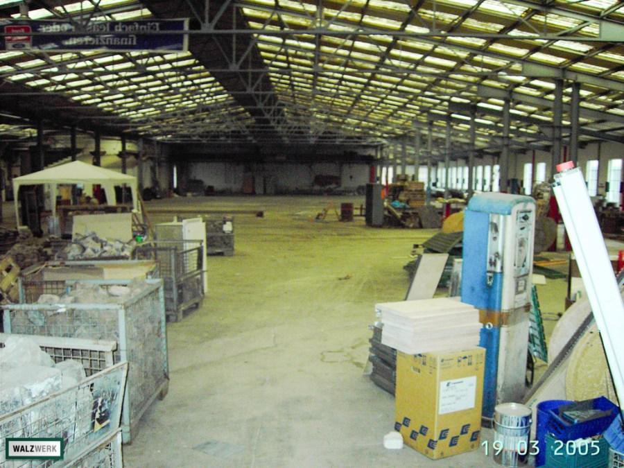 Walzwerk - Der Umbau 2005 - 02
