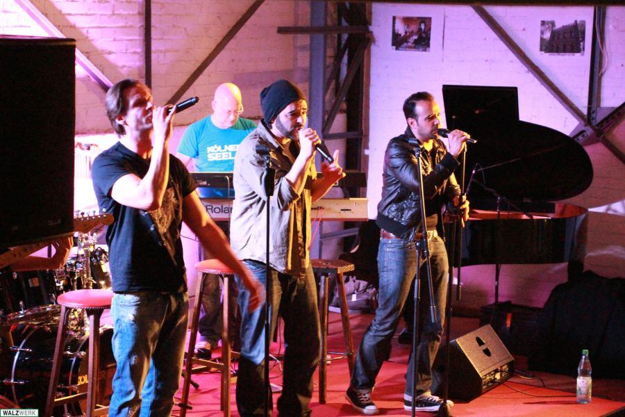 Kölner Seelen live im Walzwerk Atelier 2014