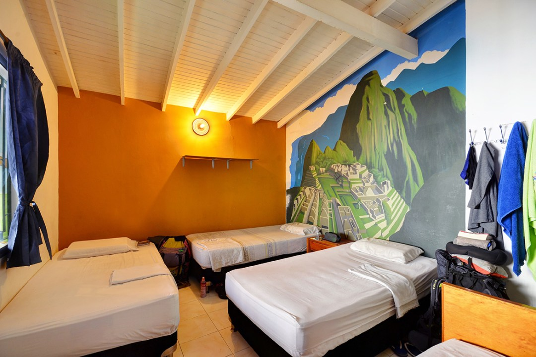 Peru room hostel in medellin
