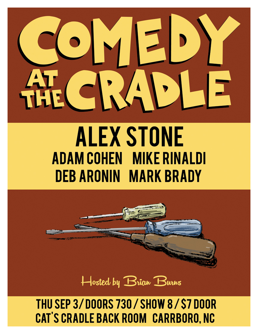 COMEDY AT THE CRADLE SEP 2015 WEB