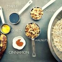 FOOD: BANANA AND WALNUT GRANOLA