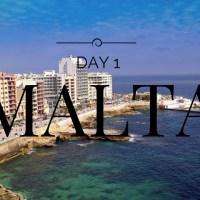 NEW VLOG CHANNEL - MALTA DAY 1