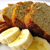 MAKING BANANA BREAD A HEALTHY-ISH TREAT TO BAKE