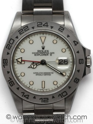 Rolex SS Explorer II ref 16550 circa 1984
