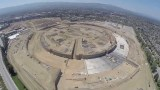 Apple Campus 2 construction video – August 2014 – shot with GoPro