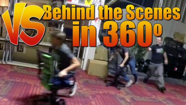 Behind the Scenes in 360 degrees – Ray Vs Gavin Ep 98