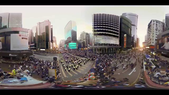 Hong Kong Unrest – a 360° Virtual Reality Documentary