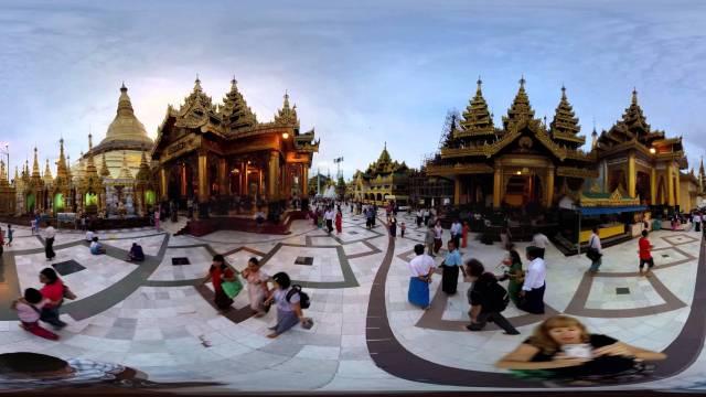 Myanmar Temple Walk #AWR360