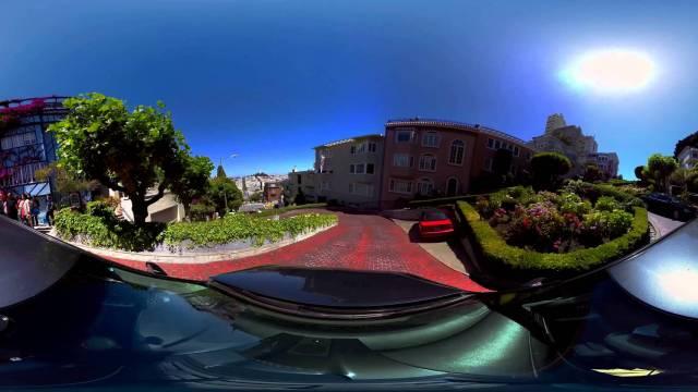 San Francisco Lombard Street 360 experience