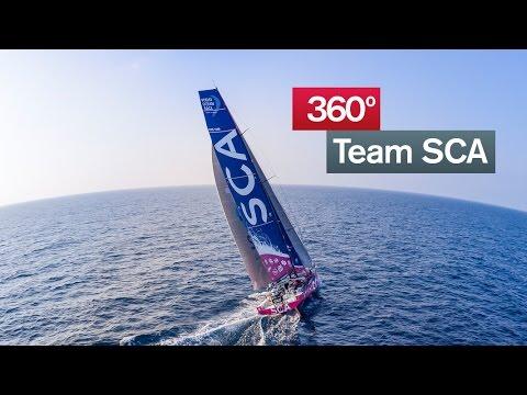 Team SCA 360* experience teaser | Volvo Ocean Race 2014-15