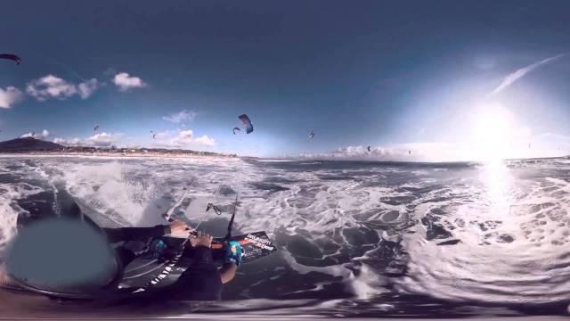 Lab 360° kitesurfing experience Waoo