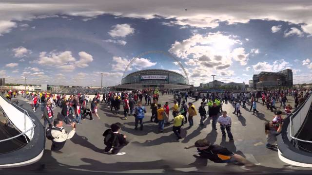 FA Cup 2015 360 Time lapse