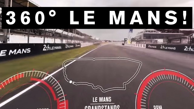 INCREDIBLE LE MANS 360° LAP! GT-R Drives First EVER 360° lap of #LeMans