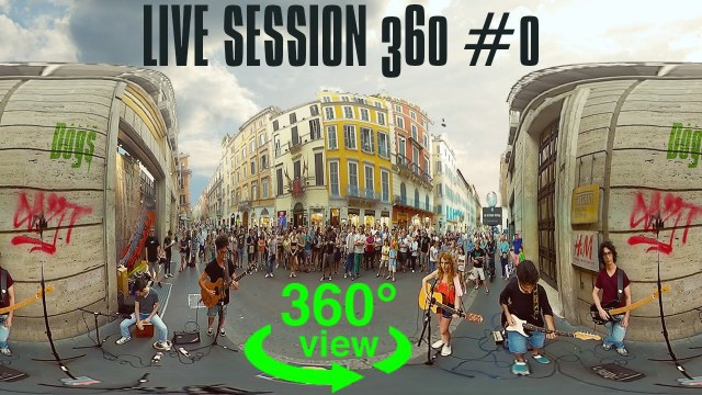 LIVE SESSION 360 #0 – Stay with me – Yell oh Claire ft. Federico Baroni