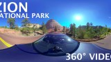 Zion National Park – Scenic Drive – 360° Video