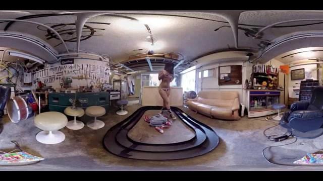 ミニ四駆と女の子と一緒にパノラマ360度体験 VR GIRL 赤根京 Ver.1