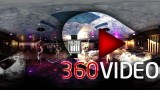 Striptease club in 360 degrees video