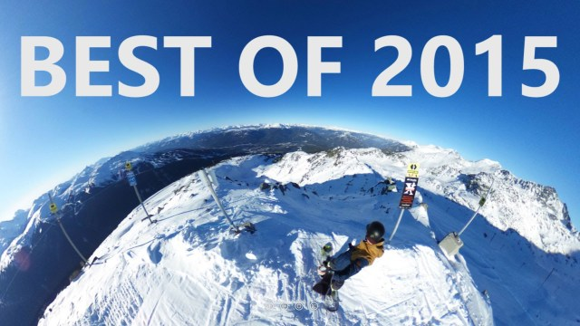 Best of Snowboarding 2015 (360° VIDEO)