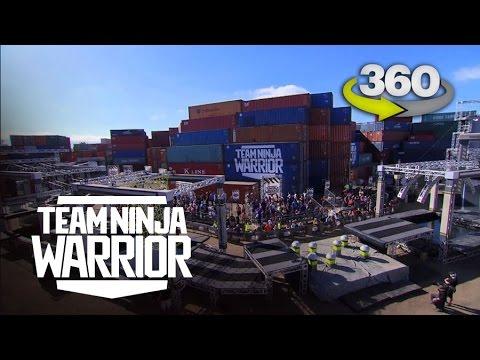 Run the Team Ninja Warrior Course in 360 Virtual Reality | Team Ninja Warrior | ANW