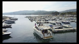 Mavic Pro DJI 4K Nautic Sunset Drone Azimut Saint-Tropez