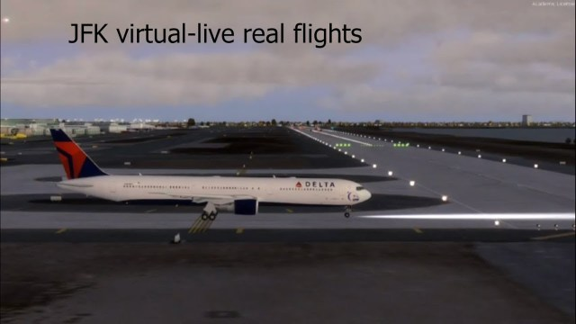 JFK AIRPORT  **Virtual Airport**Live arrivals and departures ** New York New York