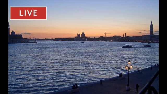 Venice Italy Live Cam – San Marco Basin in Live Streaming