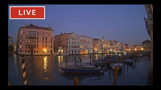 Spectacular View of Grand Canal – Live view from Hotel San Cassiano
