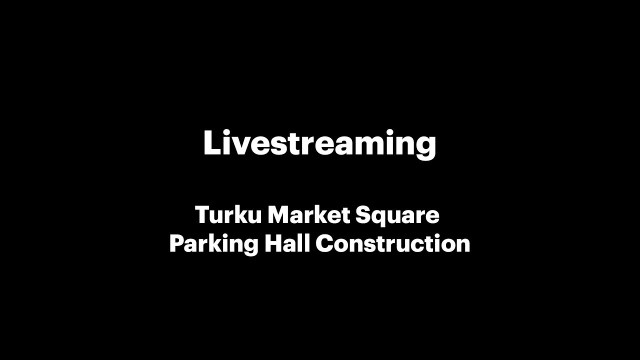 Turku Market Square Parking Hall Construction | Live from MagiCAD Headquarters