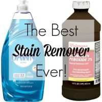 The Best Stain Removal for Clothing