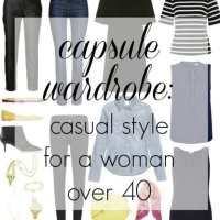 Ask Allie: Casual Capsule Wardrobe for a Woman over 40