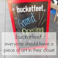 Bucketfeet | Everyone should have a piece of art in their closet