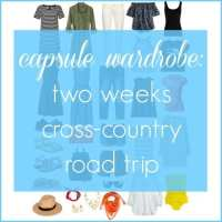 Capsule Wardrobe: Two Weeks Road Trip