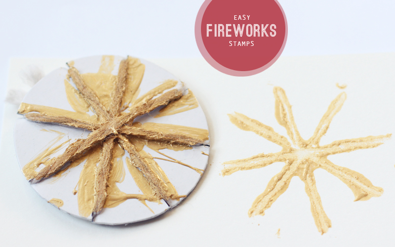 Easy Fireworks Stamps